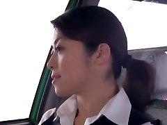 Super-naughty Japanese chick Nao Mizuki, Hikari Hino in Horny Van, Cunnilingus JAV movie