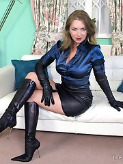 Lady Leather & Satin