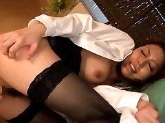 Nachi Sakaki Asian with hot boobs and behind AnalNippon.com