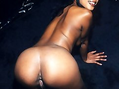 Jessica is a tall gorgeous black woman.  Watch her do her strip tease show while bearing it all