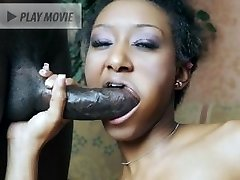 Horny chick Shi Reeves groans in pleasure while getting her black cunny utterly screwed