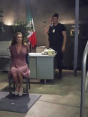 When Silvia Saige is caught South of the Border holding a wad of cash and a bag of contraband, Federale Roman Nomar punishes the tourist with bondage, hard anal sex, humiliation and imprisonment.