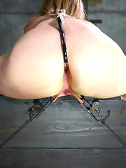 Winnie Rider has the kind of fantasies all girls have, but most are never ready to admit. This hot blonde wants to be bound. She wants to have her big tits roughly handled. She wants her beautiful ass to be plundered. She wants to feel her tight pussy crammed full of cock. What makes her wet? Whatever can make her scream. This girl loves a bit of pain with her pleasure.