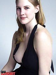 Down blouse hidden cam horny shots