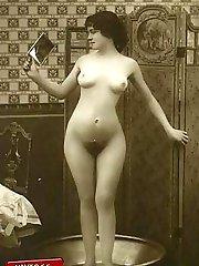 Classic vintage ladies nude