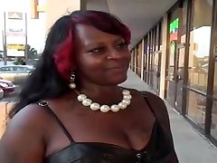 Immense keister ebony BBW gets romped on the bed