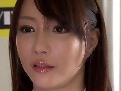 Crazy Asian model Kotone Kuroki in Incredible big tits, rimming JAV movie