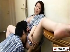 Youthfull son in law likes NOT his the mother