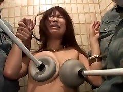 Incredible Japanese girl in Fabulous Sadism & Masochism, Facial JAV sequence