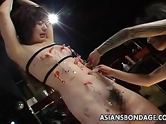 Very kinky bdsm session for the ugly slut