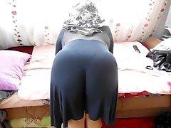 Arab Home Sex - Big Butt Round Ass - Chubby Plumper Mature Booty