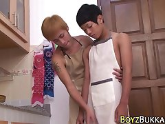 Asian skinny twinks fuck