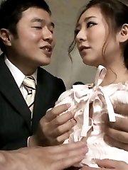 Minori Hatsune Asian has hairy nude beaver PublicSexJapan.com