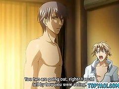 Hentai homo men having cock in anal fuckfest and fu