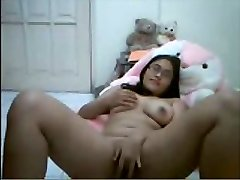 Asian on Webcam. Her first time!