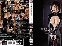 Amazing Japanese babe Aimi Yoshikawa in Best gangbang, latex JAV clip