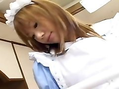 A junior and shy maid get internal ejaculation. Is