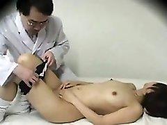 Japanese Doctor Enjoys To Fuck Schoolgirls
