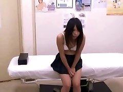 Japanese schoolgirl (Legitimate+) medical exam