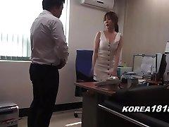 Korean porn SCORCHING Korean Manager Lady