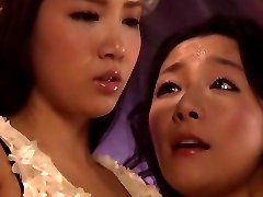 Horny Japanese damsel Ayaka Tomada, Aya Asakura in Hottest sapphic, 69 JAV video