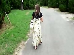 Pregnant Japanese Hottie Has to Fuck  Hobos