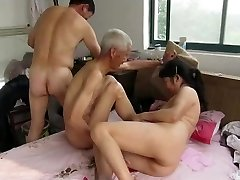 Chinese Grandpas in Action