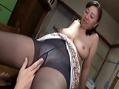 Asian mature sweetie hot sex with a insatiable youthful boy