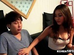 KOREA1818.COM - Lucky Virgin Boinks Hot Korean Babe!