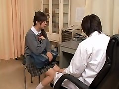 Real gyno sex flick with asian whore examined by kinky doctor