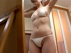 softcore asian bikini booty massage