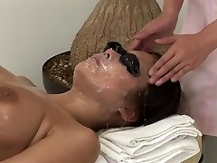 JAV utter body bizarre cum facial massage clinic Subtitled