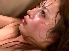 Crazy Asian girl Mau Morikawa in Ultra-kinky Cuckold, Gangbang JAV video