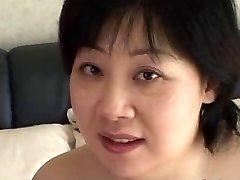 44yr elderly Chubby Busty Japanese Mom Craves Cum (Uncensored)