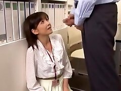 Horny Japanese hoe Ai Komori in Hottest Popshots JAV clip