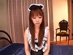 JAPANESE MAID DP Internal Ejaculation