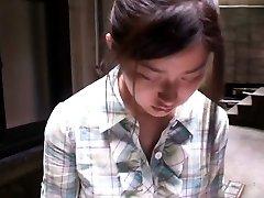 Cute asian gal gets filmed by voyeurs