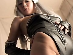 Asian leather and boots Anioy