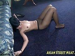 Crucifixion Enacted In Asian Pleasure