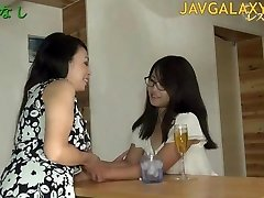 Mature Japanese Bitch and Young Teenager Lady