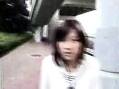 Bottomless Japanese nurse sixtynine oral pleasure in public