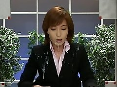 Japan News with Cum-shots. Scene 2