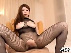 Trampy sweetheart has some wondrous  69 act and rides dick