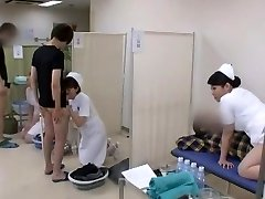 favoloso modello giapponese yuri aine, yu kawakami, aya sakuraba in infermiera cornea jav video