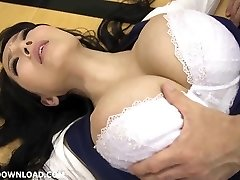 Big big-chested asian babe