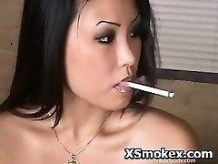喫煙ハードコアKinky記述させ