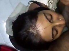 Cum on Desi Face