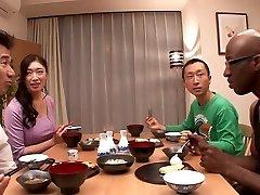 Neverjetno Japonski dekle Reiko Kobayakawa v Najboljši big dick, veliki joški JAV posnetek