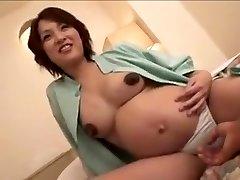 knocked up Japan dame still gets fuck part 2