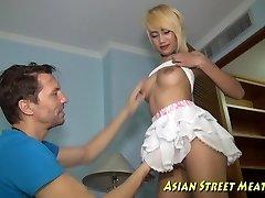 Tall Thai Gal Pleasure Of Cock-squeezing Anus